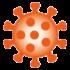 SARS-CoV-19 Virus Icon