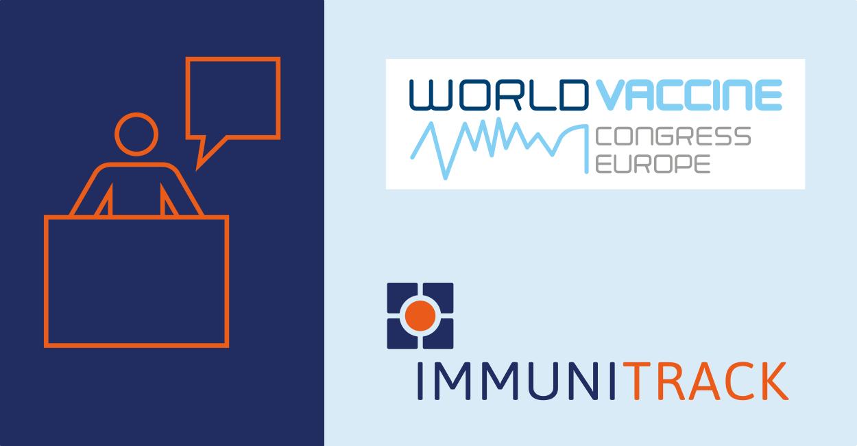 Immunitrack and World Vaccine Congress Europe logos