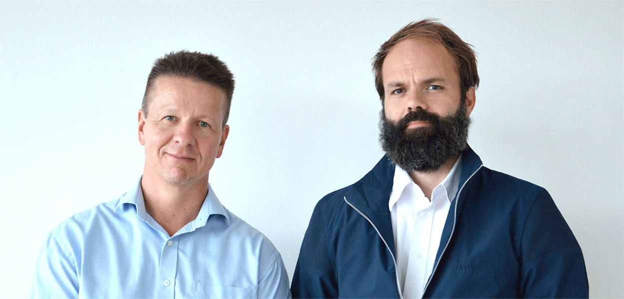 CSO, Sune Justesen, and CEO, Stephan Thorgrimsen, founders of Immunitrack
