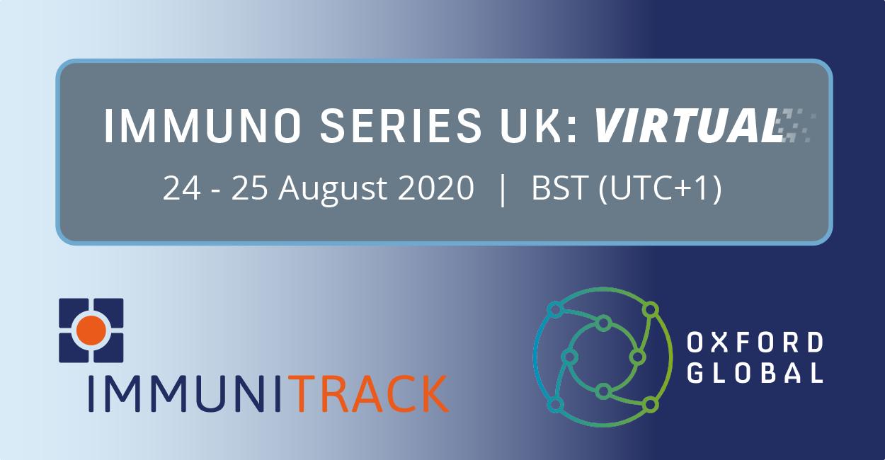 Immunitrack attends Immuno Series UK: Virtual