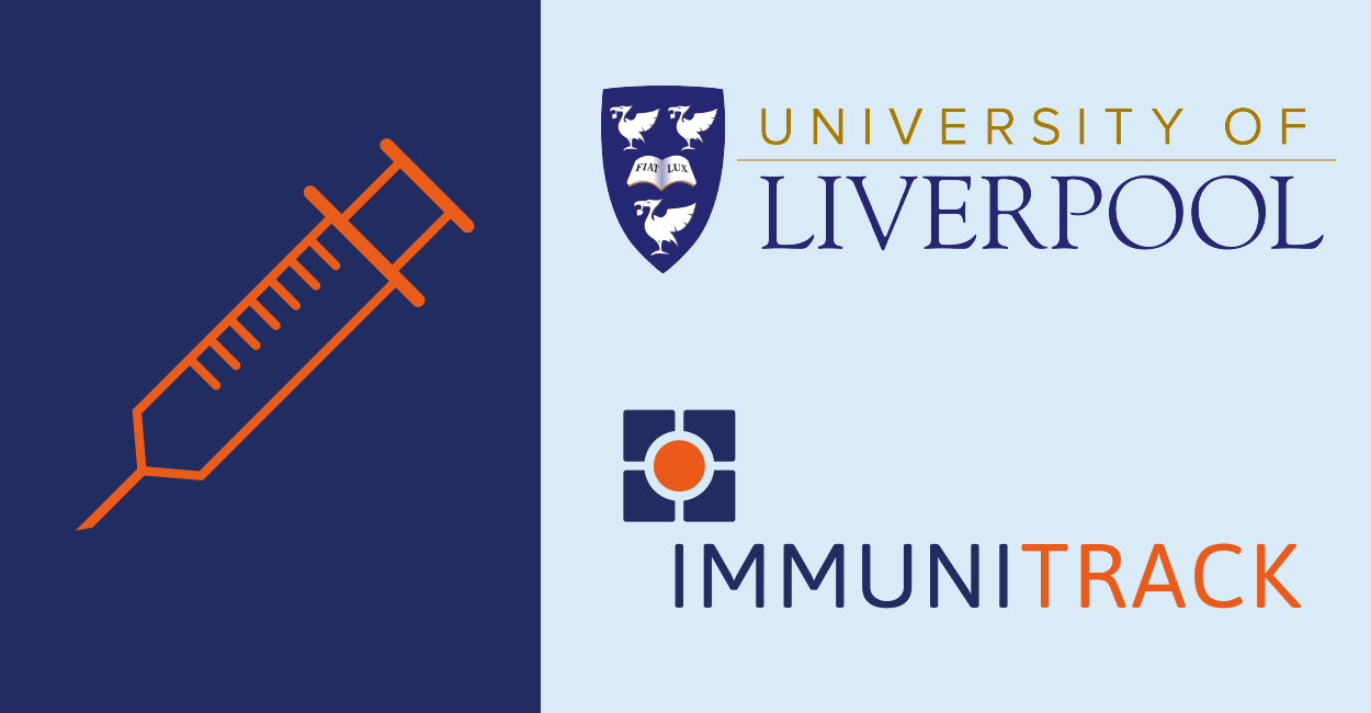 Immunitrack and University of Liverpool are working together to develop new ways of designing vaccines